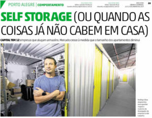 Self Storage no Zero Hora